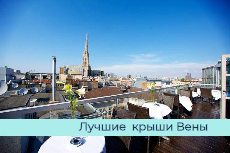 Лучшие бары и рестораны Вены с видом на город