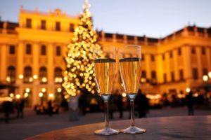 Новый год в Вене и Граце