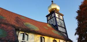 Церковь Хундертвассера в Бернбахе