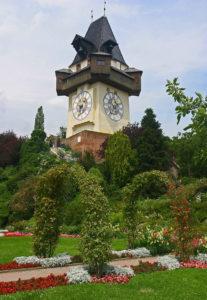 Шлоссберг – гора в центре Граца и её неожиданный ботанический ракурс