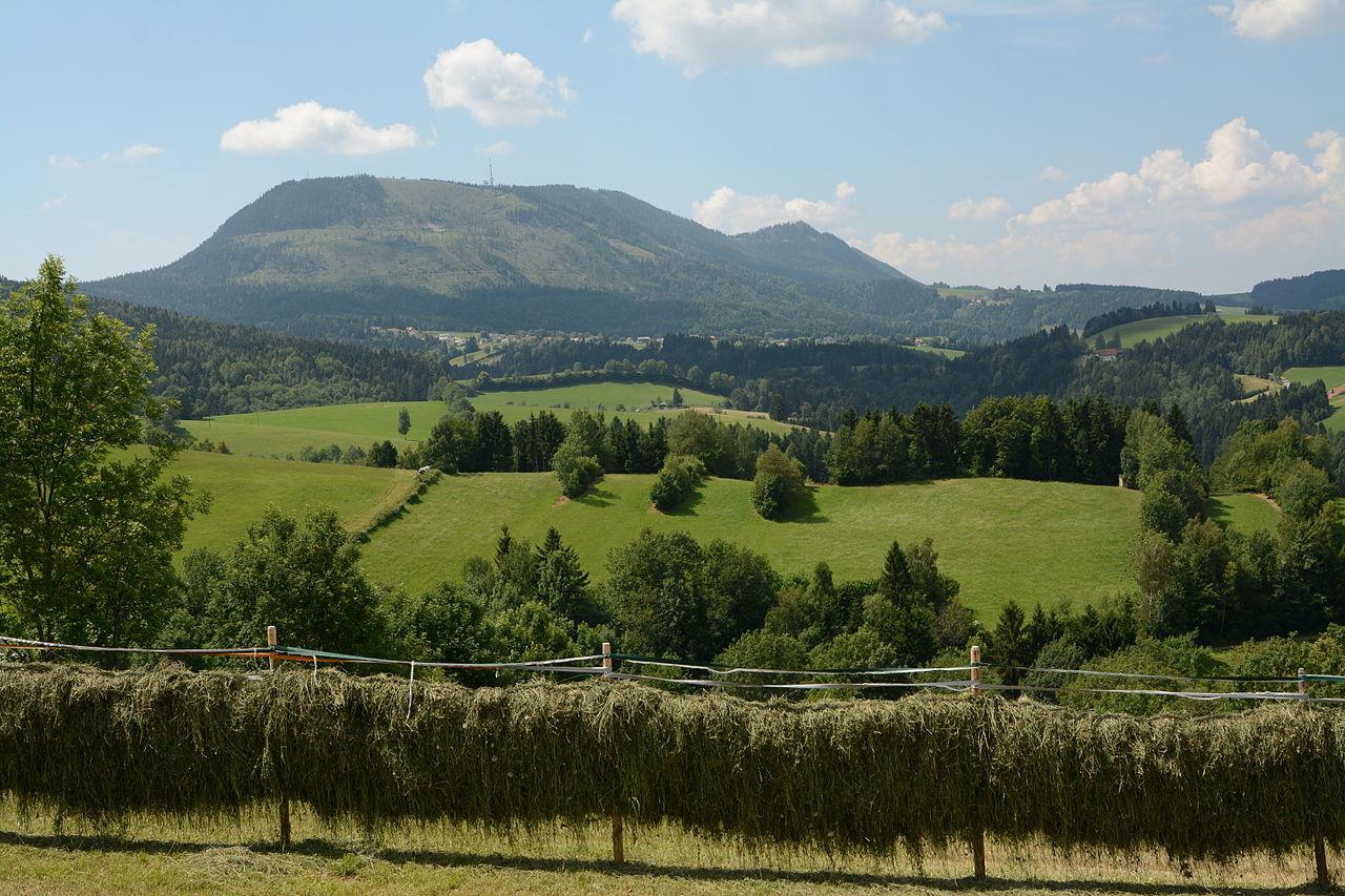 """Шёкль (Schöckl) – это """"домашняя"""" гора Граца"""