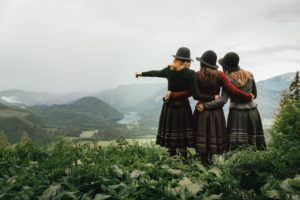 Лена Хошек создаёт моду в Австрии